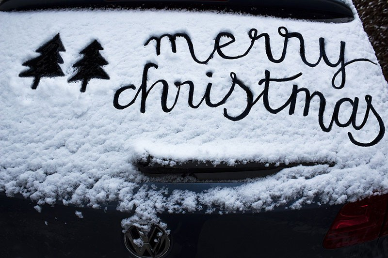 Wishing everyone a #MerryChristmas - Don't forget the #AntiFreeze #Surrey is due to be cold!