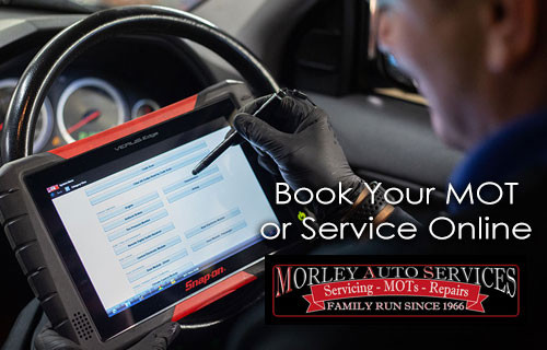 Make life easy and book your next MOT online at morleyautoservices.co.uk/book-your-mot-service #bookonline #mottest #motservice #localmechanic